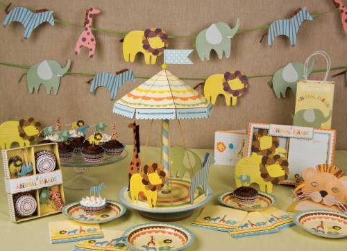 decorating ideas for jungle safari themed baby shower