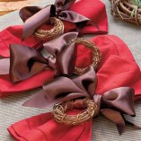 Christmas Decorating Ideas: Customize Napkin Rings