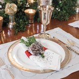Christmas Decorating Ideas: Customize Your Napkin Rings