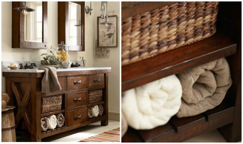Bathroom Decor Ideas- Roll The Towel