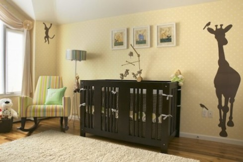 Keep the nursery decor, in sync with the rest of your house.
