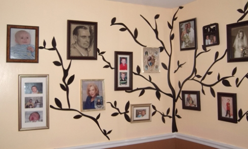 Add your personal touch to the nursery with family photos.