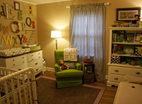 Keep the lighting options in the nursery flexible