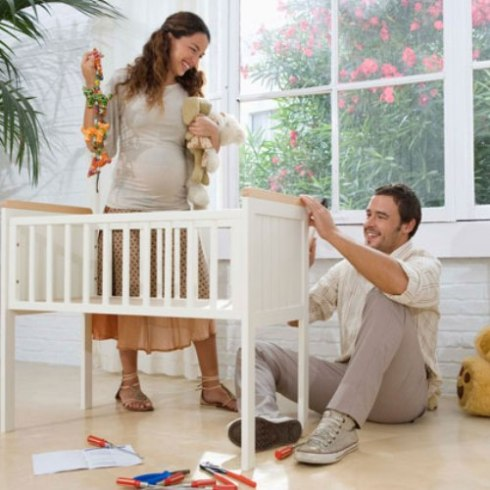 The most important tip for nursery decoration is to start early.