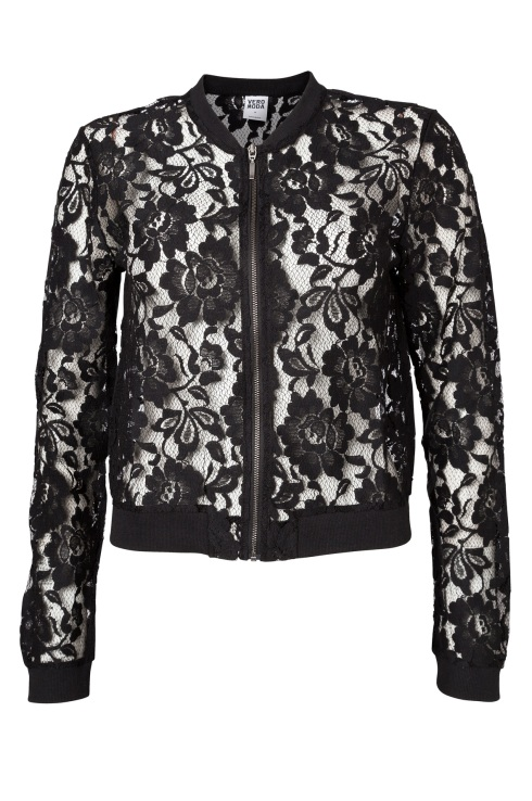 VERO MODA Lace Bomber Jacket From SS' 13 Collection