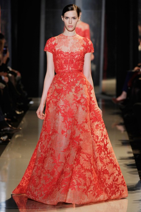 Bridal Dress Trend 2013- Color Me Red