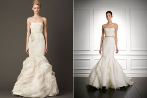 Bridal Dress Trend 2013- Sculpted Ruffles