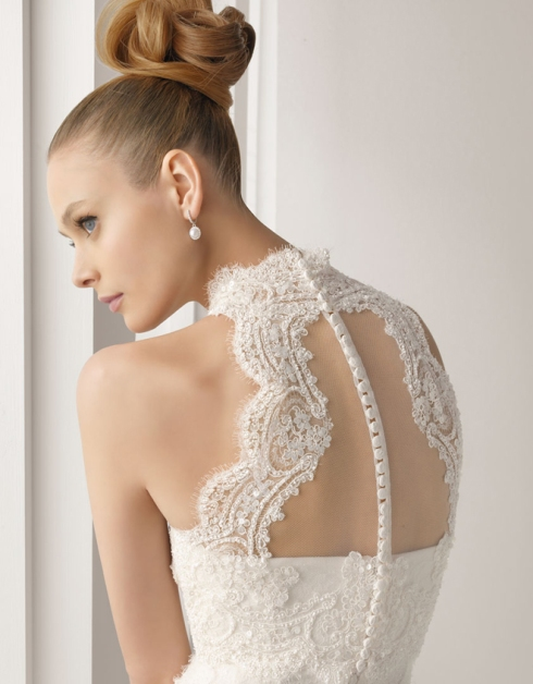 Bridal Dress Trend 2013- Beautiful Sheer Back