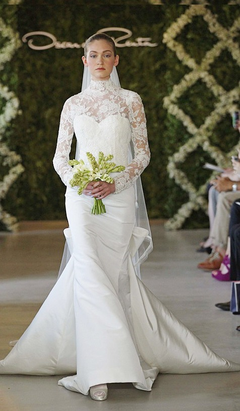 Bridal Dress Trend 2013- Sleeves