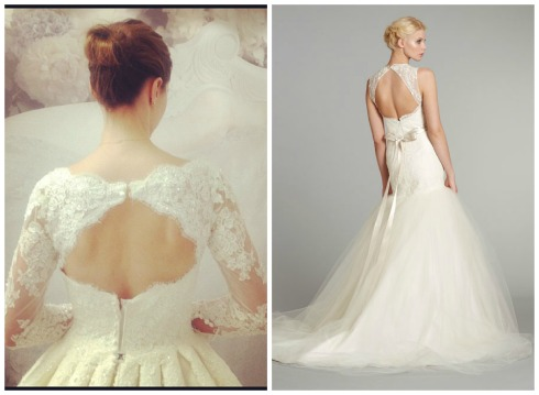 Wedding Dress Trend 2013-Beautiful Back