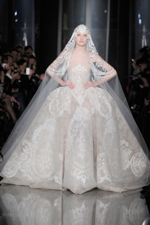 Wedding Dress Trend 2013- Dramatic Appeal