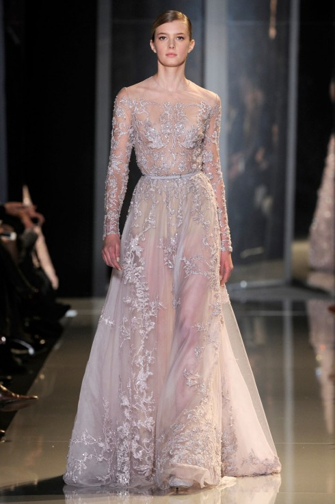 Wedding Dress Trend 2013: Bold & Beautiful Sheer