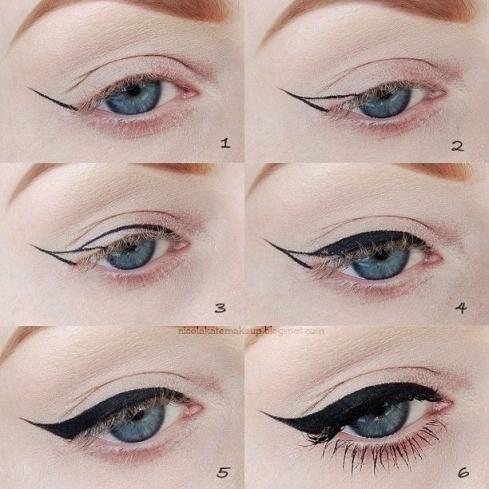Beautiful Winged Eyes