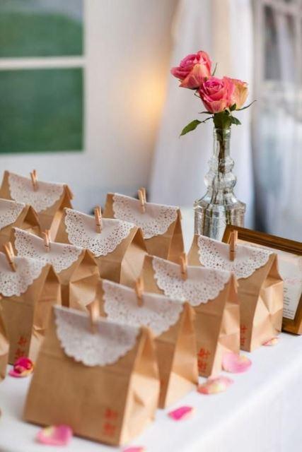 Vintage Wedding Favors