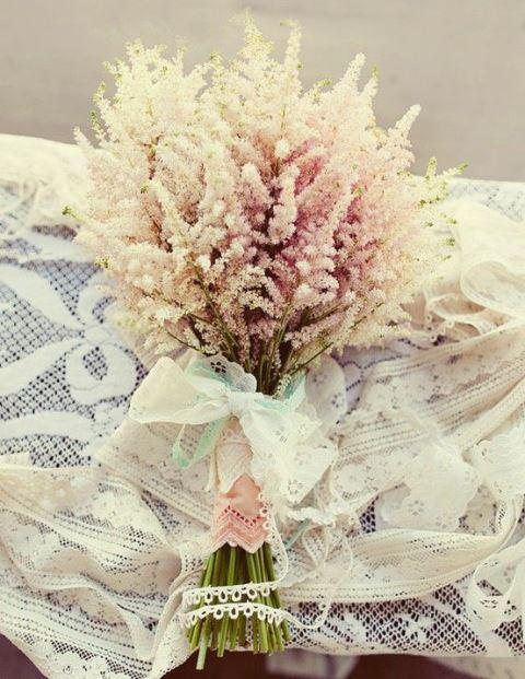 Vintage Wedding Flower Arrangement