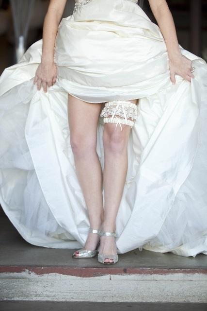 Vintage Wedding Garter