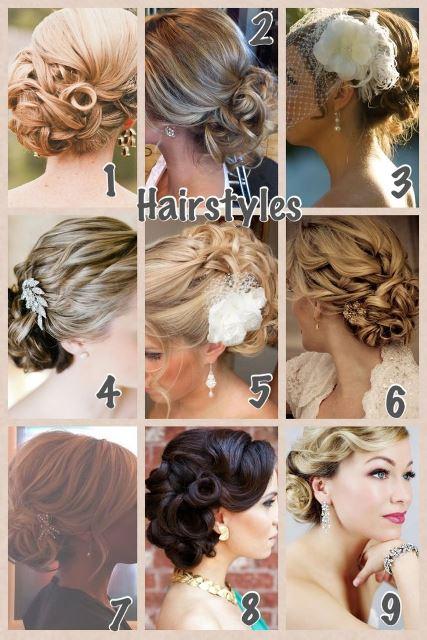 Vintage Wedding- Hairstyles