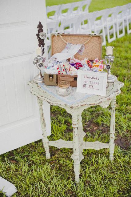 Vintage Wedding -Hankies