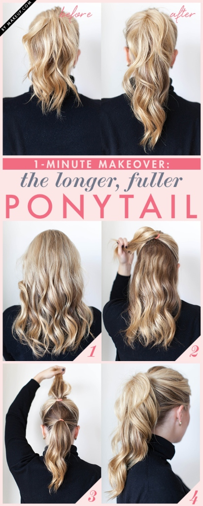 Longer Fuller Ponytail