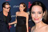 Angelina Jolie White Powder Mishap