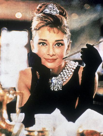 Audrey Hepburn's Updo