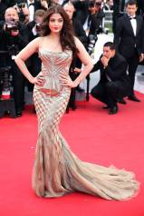 Cannes Best Dressed-Aishwarya Rai in Roberto Cavalli
