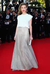 Cannes Best Dressed-Amber heard in Vionnet