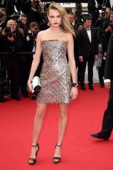 Cannes Best Dressed-Cara Delevingne in Chanel Couture