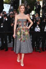 Cannes Best Dressed-Eva Herzigova in Dolce & Gabbana