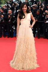 Cannes Best Dressed- Freida Pinto in Michael Kors