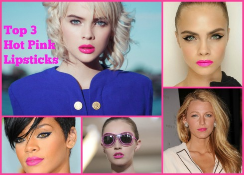 Hot Pink Lipsticks