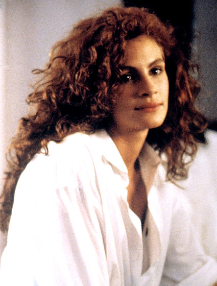 Julia Roberts' Messy Curls