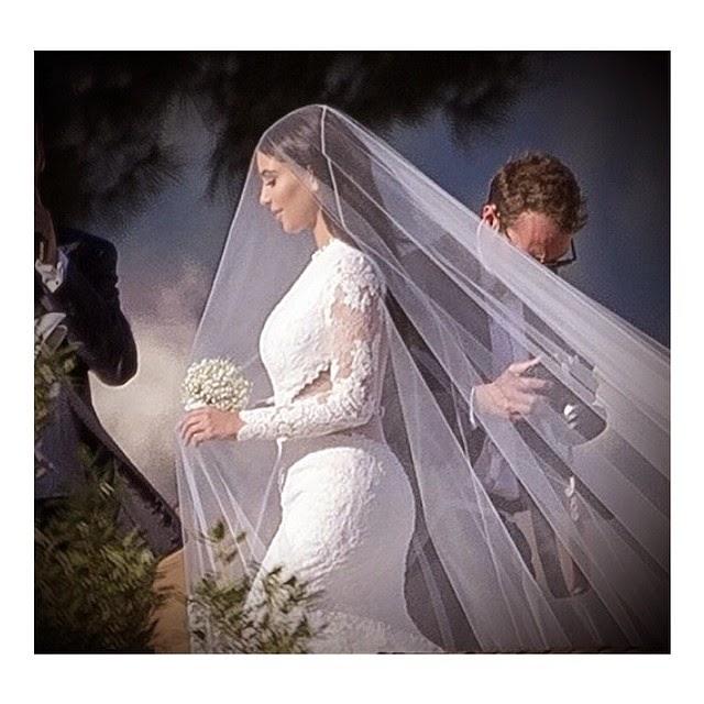 Kim Kardashian's Givenchy Wedding Dress