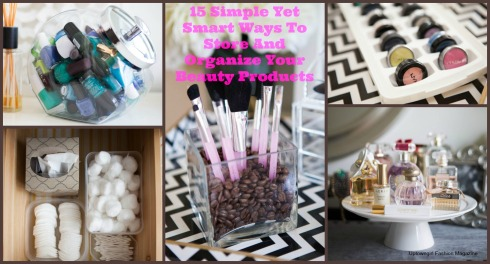 Makeup & Beauty Product Storage Ideas