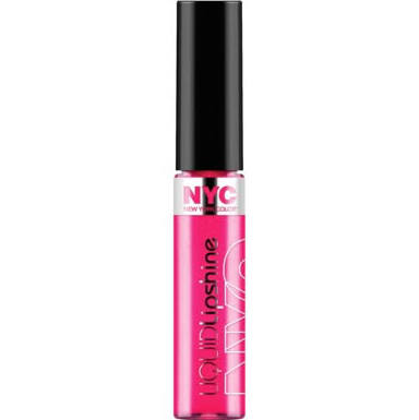 NYC Liquid Lip Shine Lip Gloss In Fashion Avenue Fuchsia