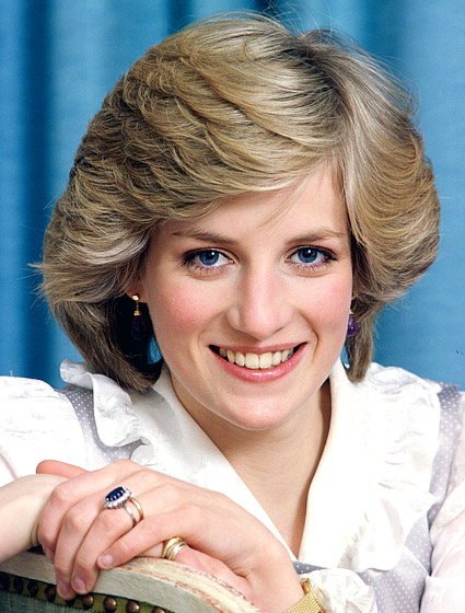 Princess Diana's Layered Pageboy Hairstyle