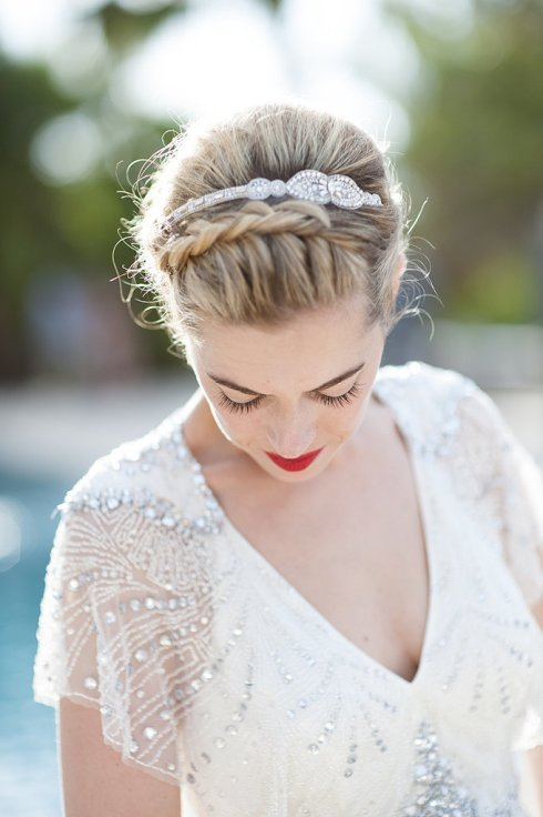 Wedding Photo-Details of your wedding hair