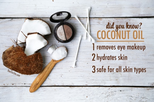 Eye Makeup Remover - Benefits of Coconut Oil