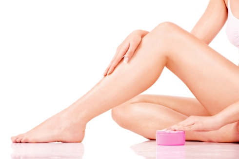 Legs cosmetic treatment
