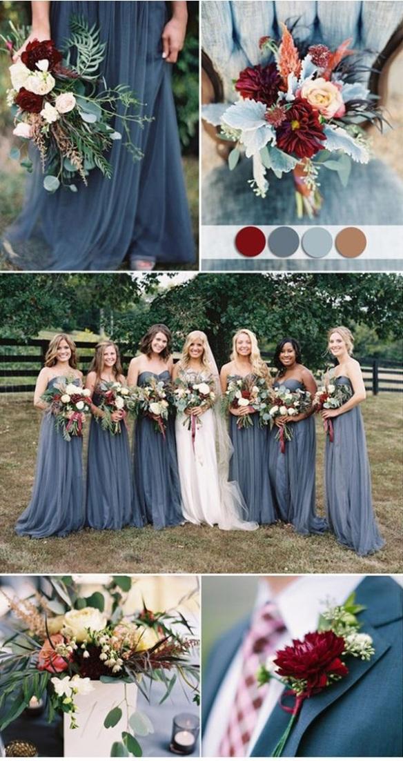 Wedding Color Scheme Ideas For Fall 2018 Uptowngirl Fashion Magazine